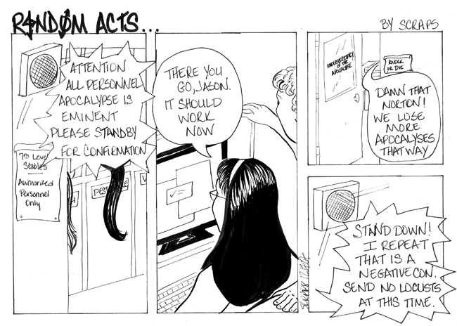 Scraps 2, Apocalypse 0