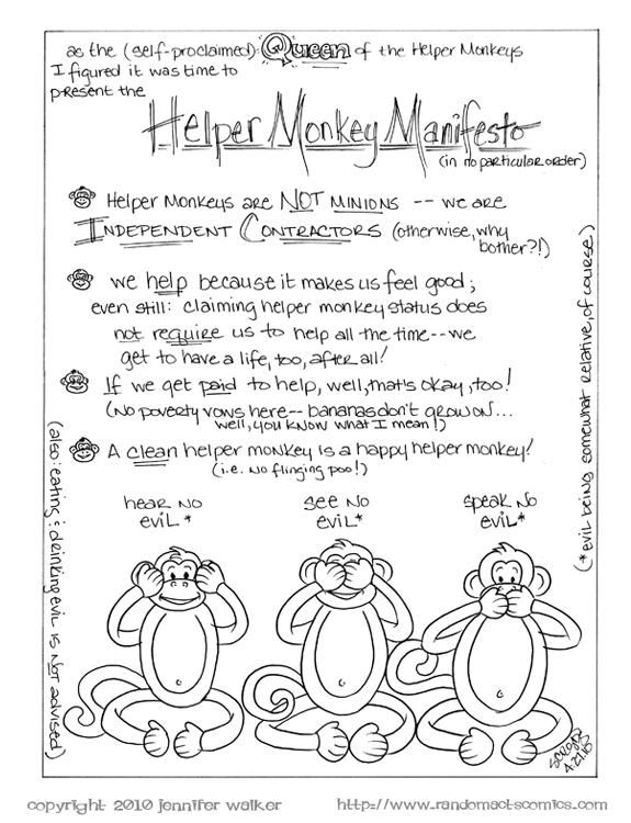 Helper Monkey Manifesto